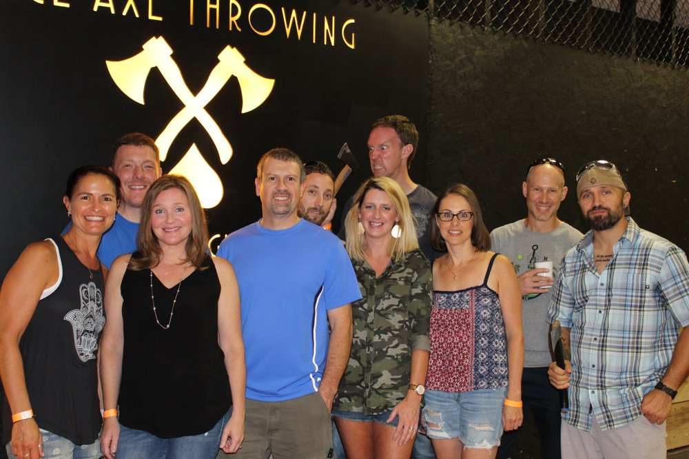 Social Spots from Ace Axe Throwing