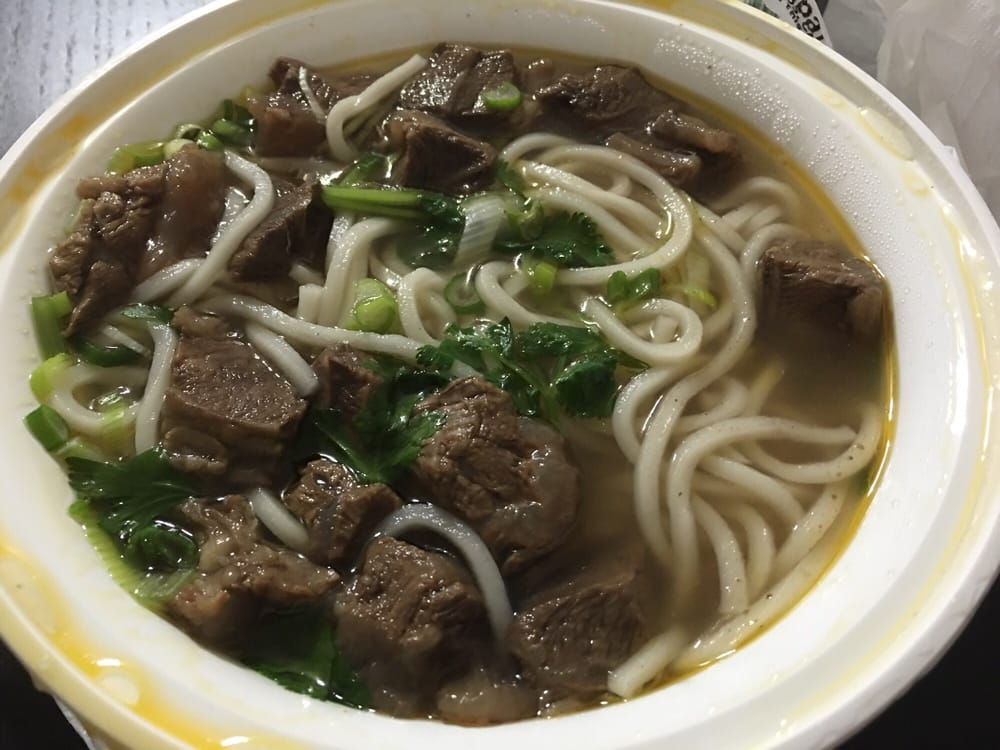 Guizhou noodles house chinese 41 42a main st downtown for 101 taiwanese cuisine flushing