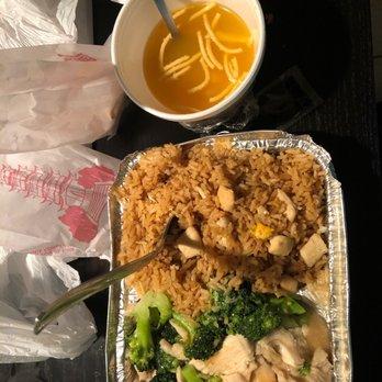 Photo Of The Asian Kitchen Miami Fl United States En And Broccoli