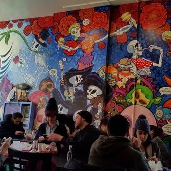 Julian r 39 s reviews new york yelp for Dia de los muertos mural