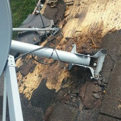 Photo Of Sotero Building   Manassas, VA, United States. Dish Making Roof  Leak