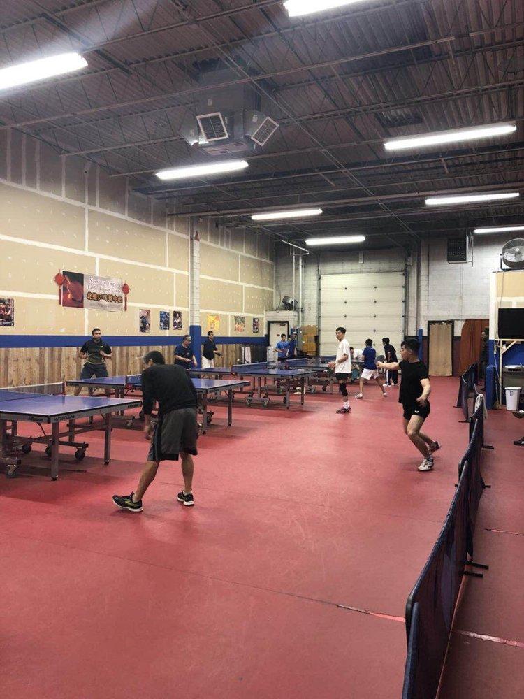 Northern Virginia Table Tennis Center: 4264-C Entre Ct, Chantilly, VA