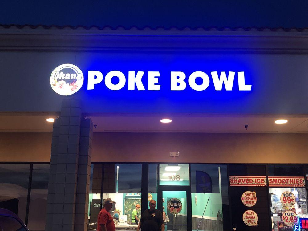 Ohana Poke Bowl, LHC: 3269 Maricopa Ave, Lake Havasu City, AZ