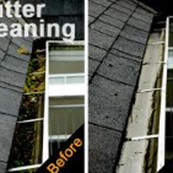 Superb Photo Of North Star Roofing   Leicester, United Kingdom. Guttering Before  And After Being ...