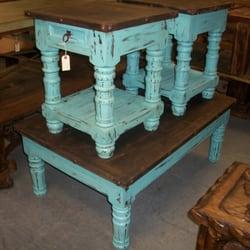 Photo Of Monterrey Furniture   San Antonio, TX, United States. Turquoise  Coffee Table