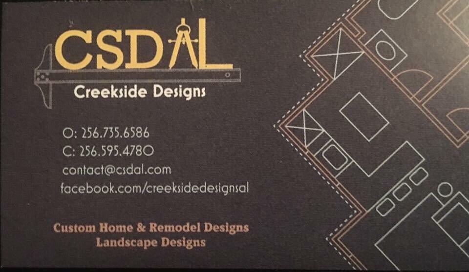 Creekside Designs: 427 2nd Ave SW, Culman, AL