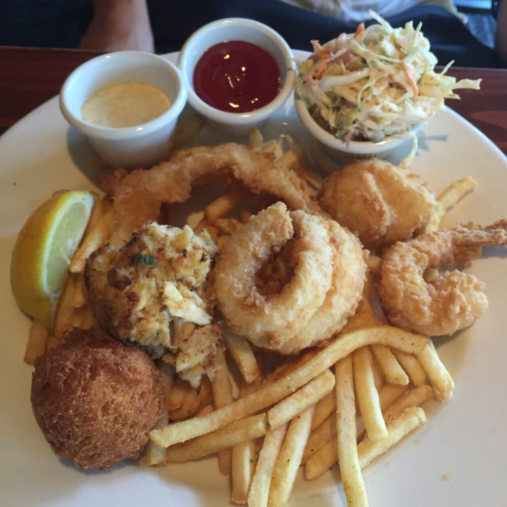 Fried seafood platter good for 2 people yelp for Atlanta fish market