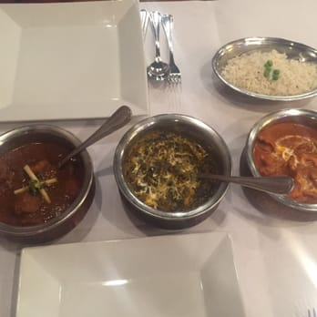 Photo Of Chutney S Indian Restaurant Orlando Fl United States All Three Entrees