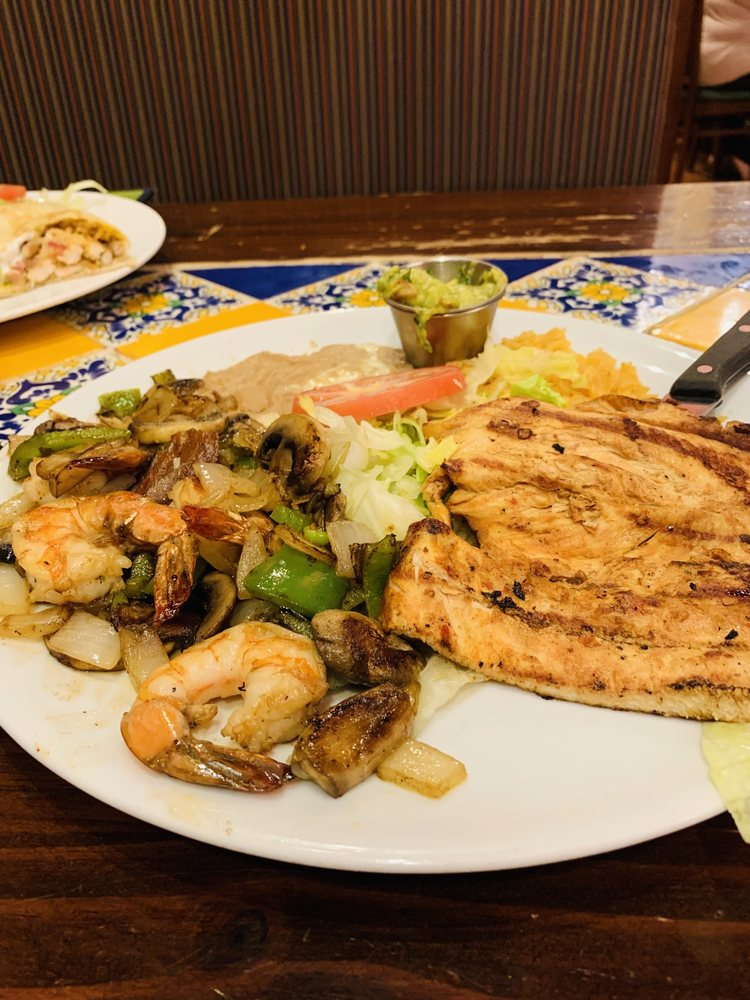 Food from Mexicali Mexican Grill
