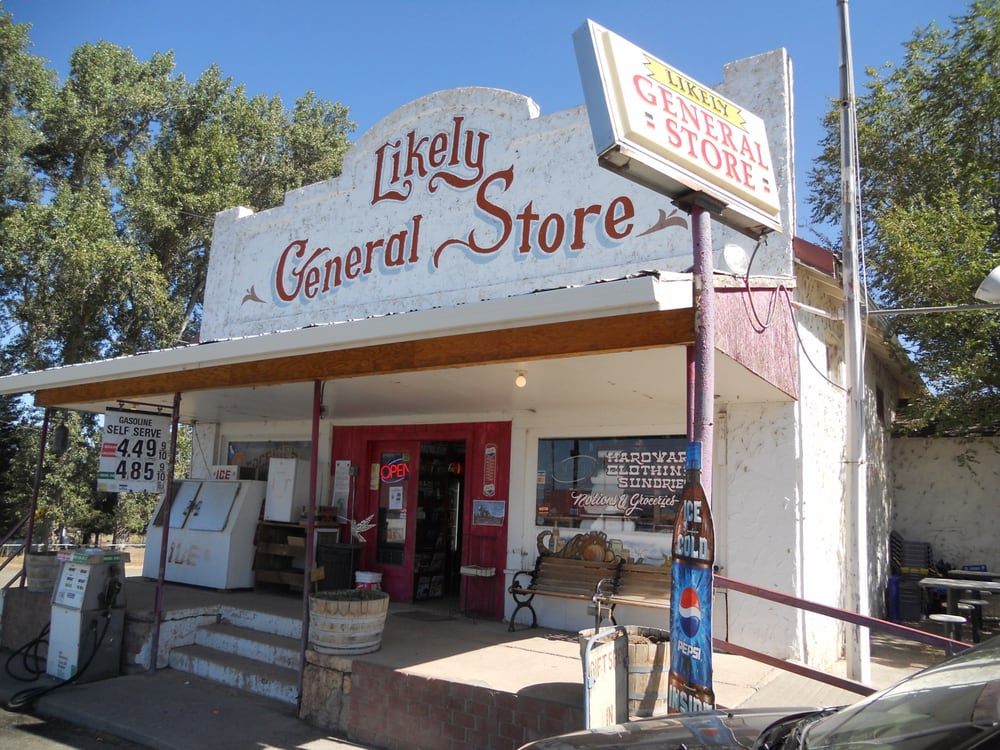 LIKELY GENERAL STORE: Likely, CA