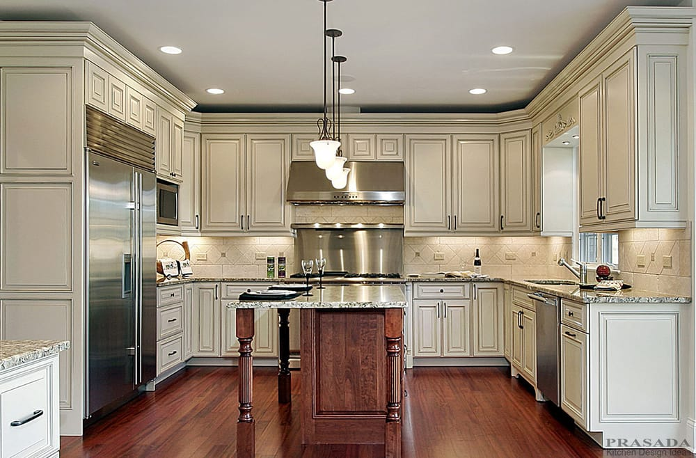 Photo Of Prasada Oakville On Canada Antique White Kitchen Cabinet Design Ideas