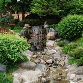 Photo Of Normandale Japanese Garden   Minneapolis, MN, United States.  Waterfall