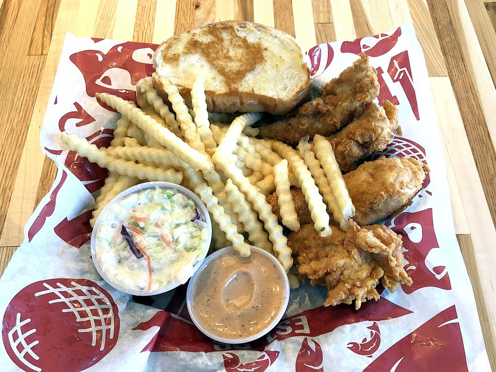 Raising Cane's Chicken Fingers: 1599 E North Ave, Belton, MO