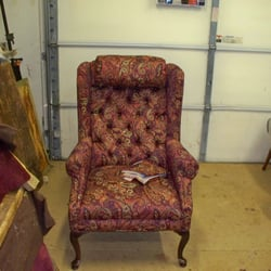 Hicks Furniture Hicks upholstery 13 photos furniture reupholstery 1831 photo of hicks upholstery courtenay bc canada wingchair with buttoned back queen sisterspd