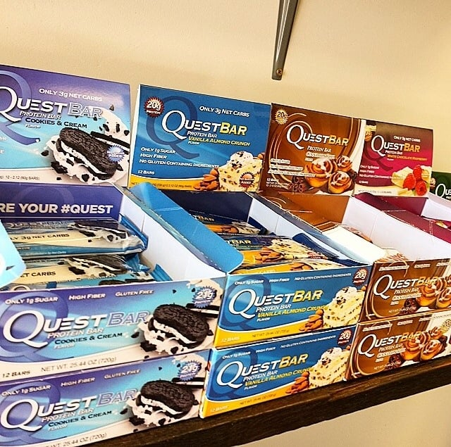 Places that sell quest bars