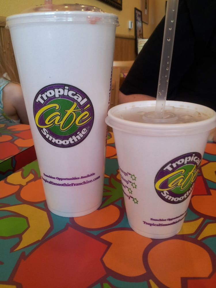 Photo of Tropical Smoothie Cafe - Las Vegas, NV, United States. 12 oz