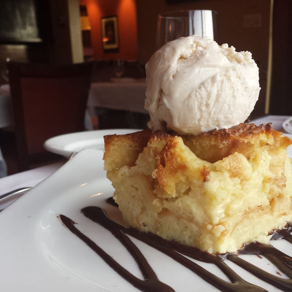 Bread Pudding with Cinnamon Gelato - Yelp