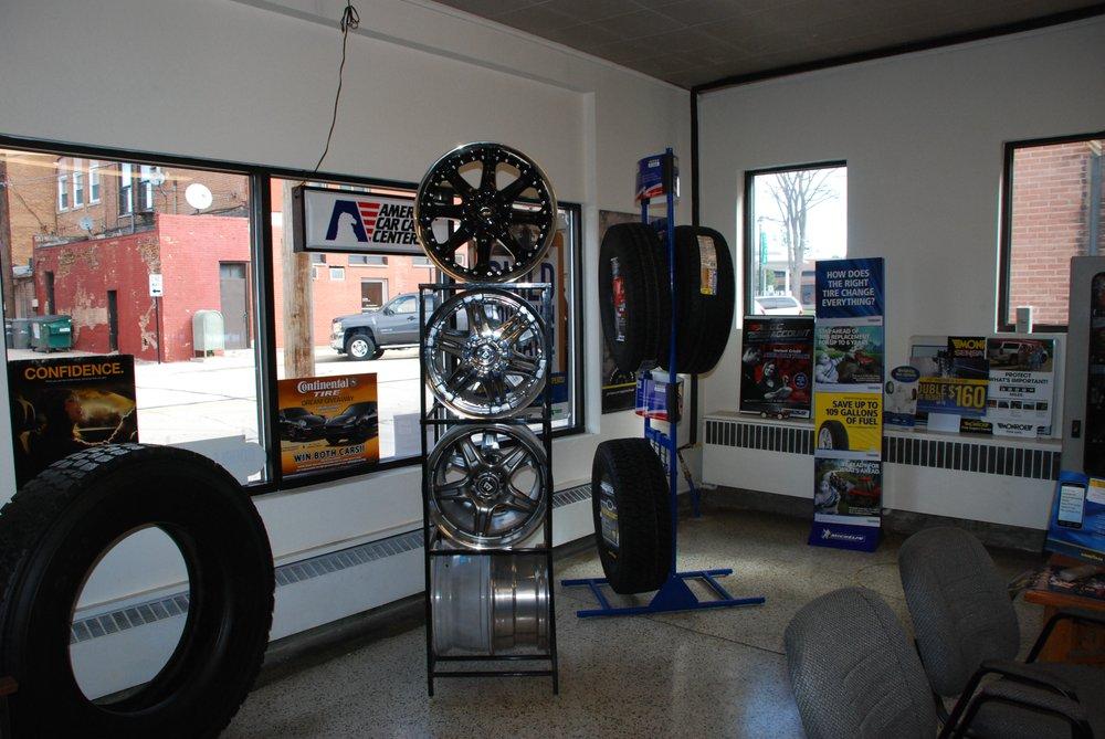Matthews Tire: 111 W Union St, Waupaca, WI