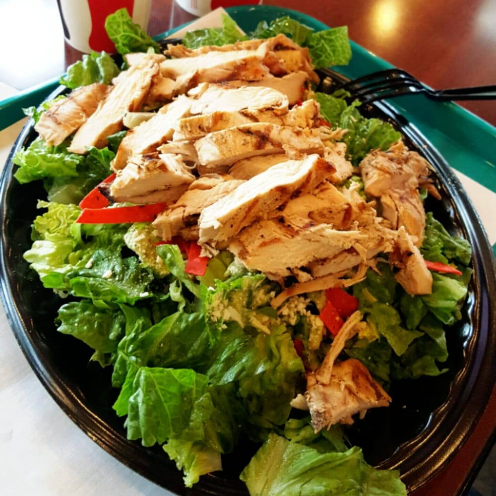 Caesar Pepita Salad w/Chicken - $8 - Yelp