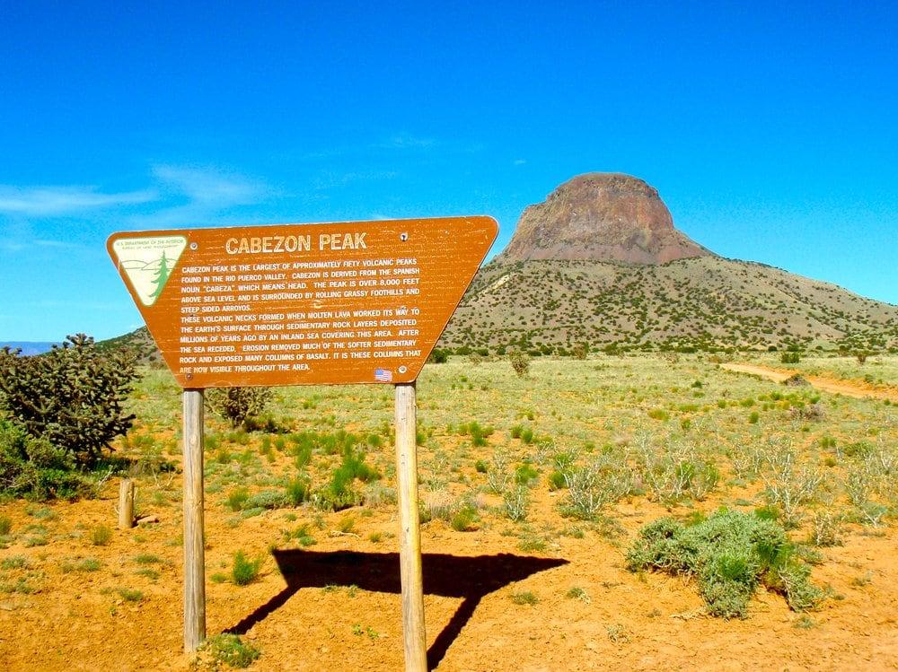 Cabezon Peak: Cr 279 And Blm 1114, San Luis, NM