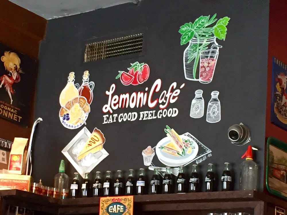 Lemoni Cafe Menu Miami Fl