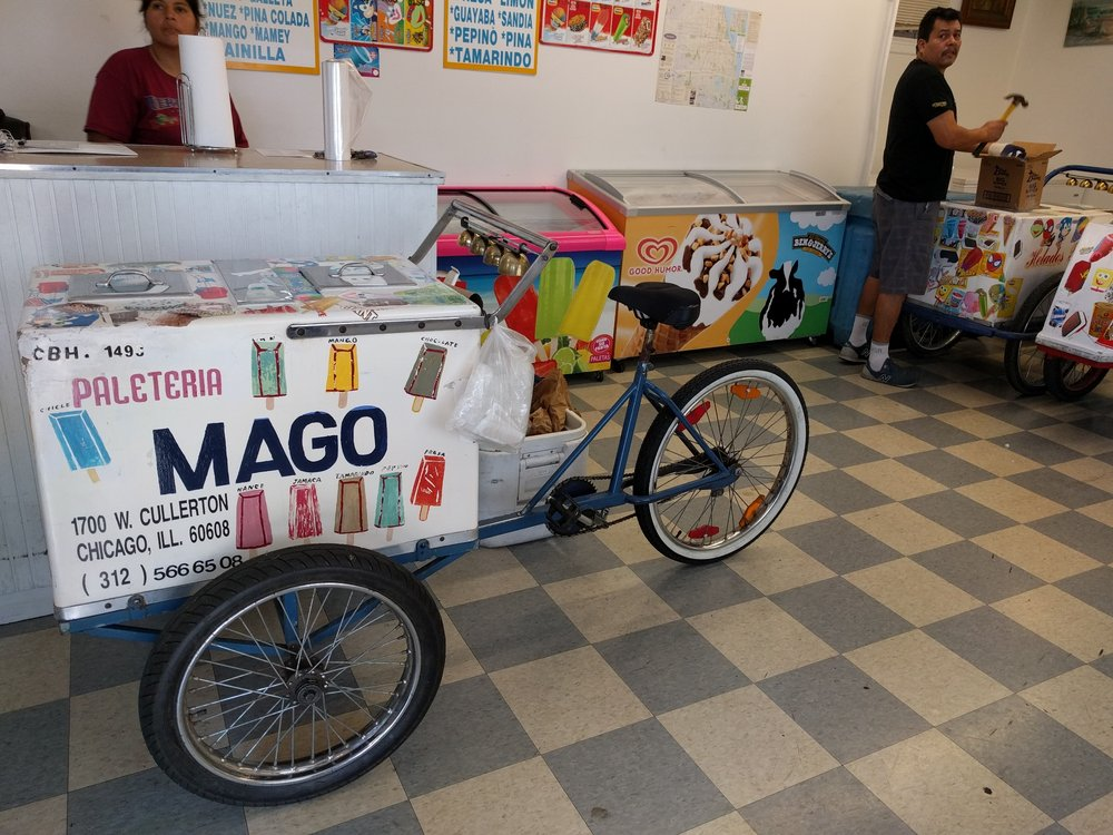 Paleteria Los Magos Ice Cream Frozen Yogurt 1700 W 19th St