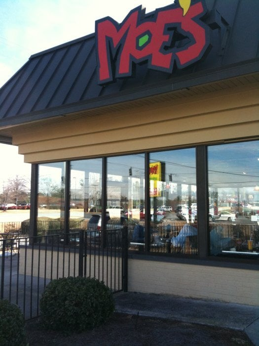 image about Moes Printable Menu titled Moes Southwest Grill - Shut - Mexican - 1475 Pleasurable