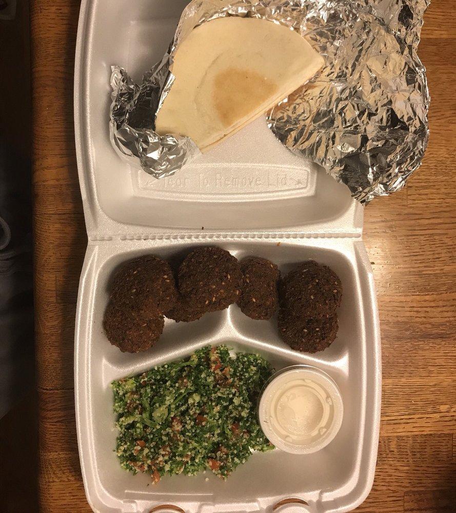 Food from Manna Mediterranean Grill
