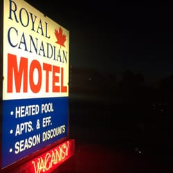 Photo Of Royal Canadian Motel Clearwater Beach Fl United States Sign