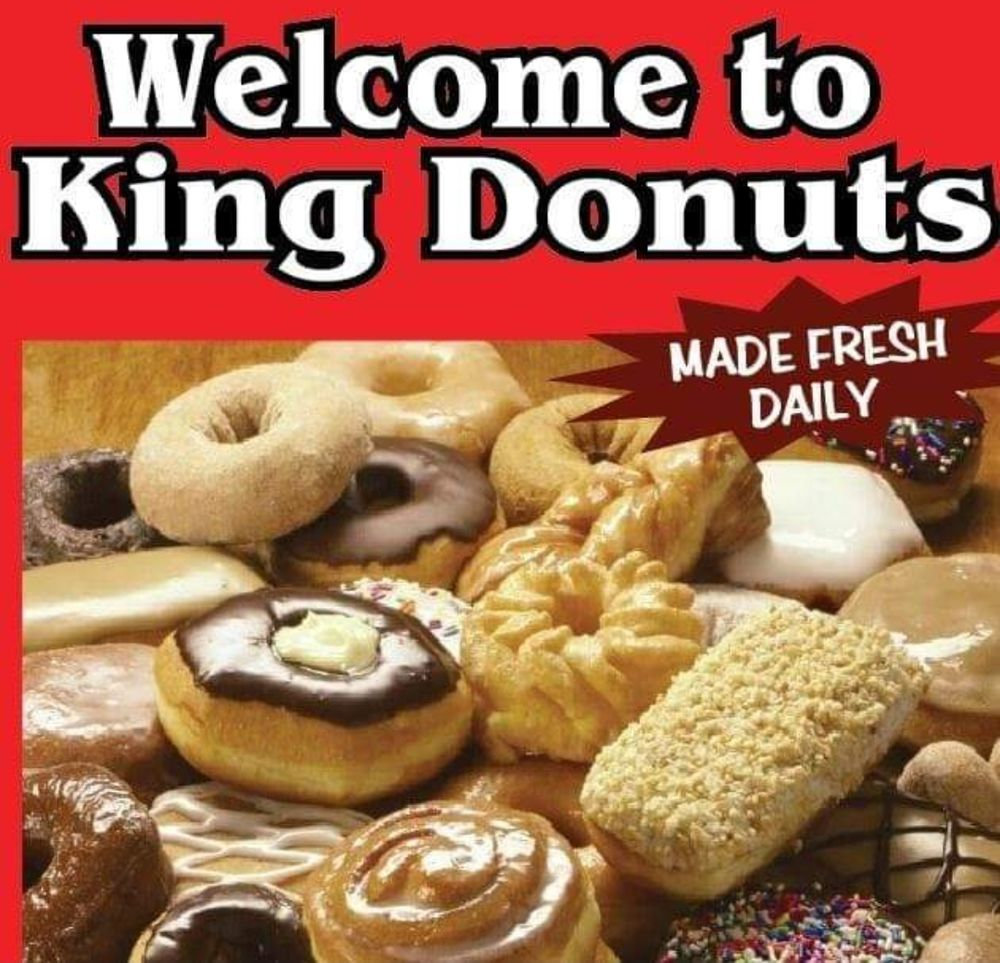 King Donuts: 2127 Jacksboro Pike, LaFollette, TN