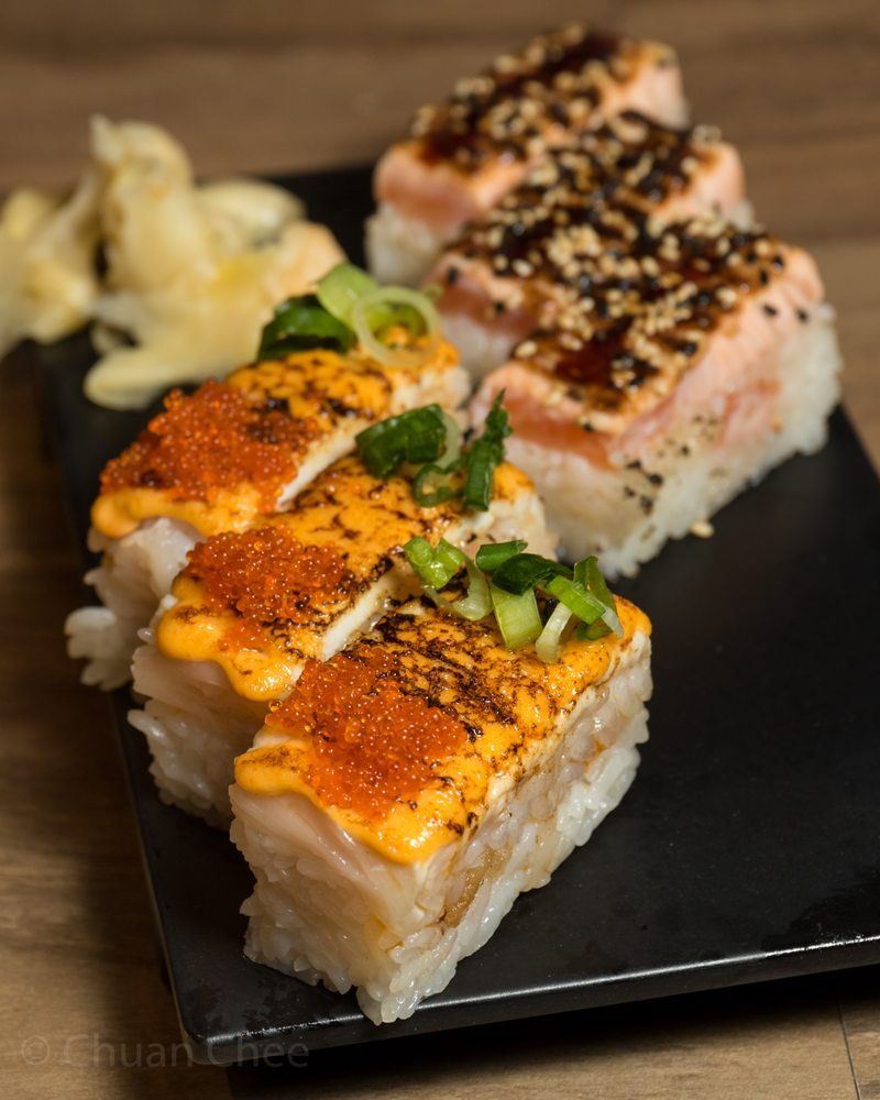 Torch Pressed Sushi