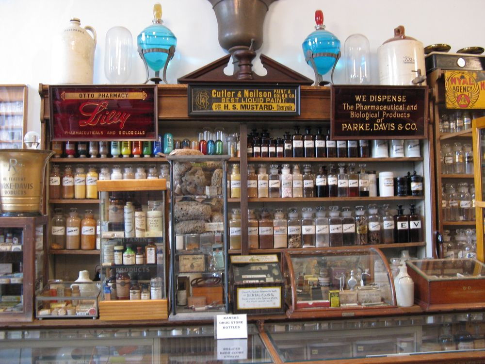 Crispin's Drugstore Museum: 161 E Lincoln Ave, Lincoln, KS