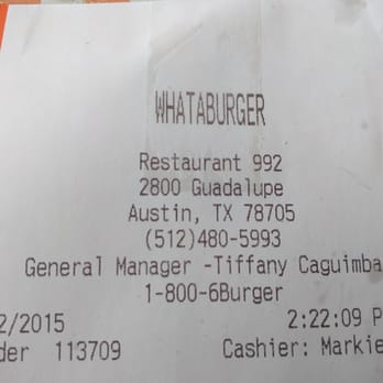 Whataburger - 25 Photos & 60 Reviews - Fast Food - 2800 Guadalupe ...