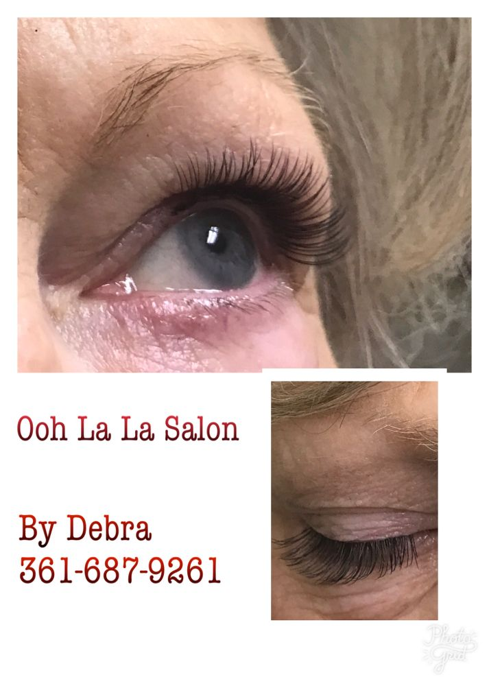 Natural Set Of Individual Eyelash Extensions 45 Yelp