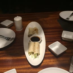 Kumo Sushi, Hibachi, and Lounge - New City, NY, United States. Roast duck wrap!