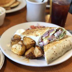 Photo Of Zeke S Place Gloucester Ma United States Breakfast Burrito With Ham