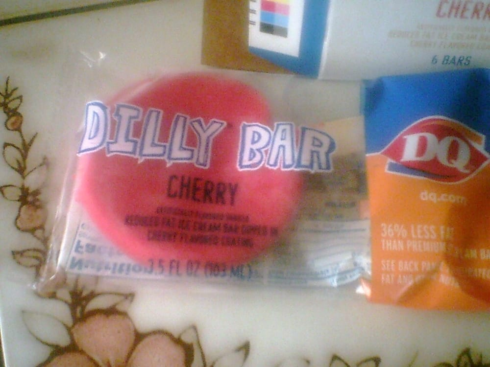 Dairy Queen Cherry Dilly Bar