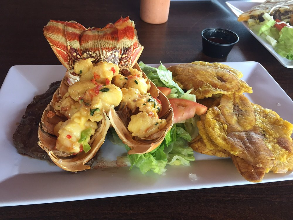 Pelican Reef Bar & Restaurant: Camino Playa Carr 441, Aguada, PR