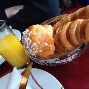 Le Grand Café des Capucines - Paris, France. Brioches and croissants