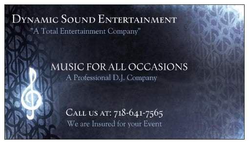 Dynamic Sound Entertainment