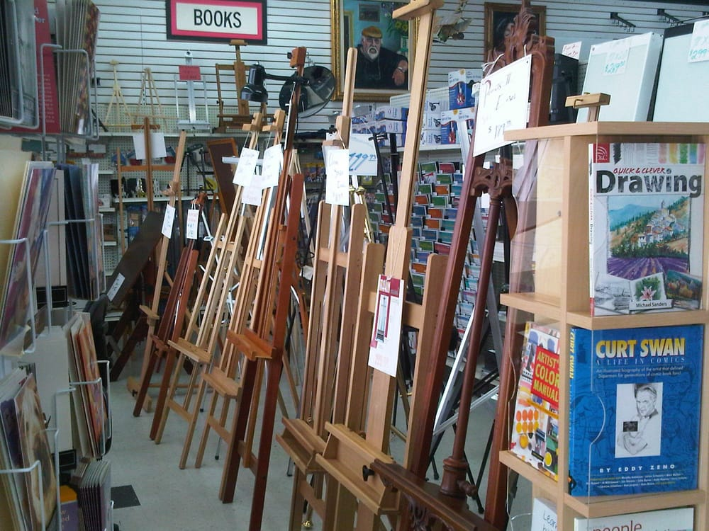 Easel Art Supply Center