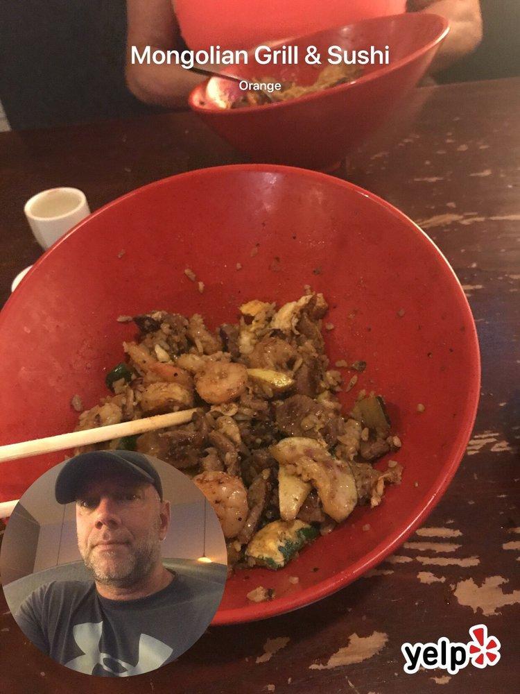 Mongolian Grill & Sushi: 3104 Edgar Brown Dr, Orange, TX