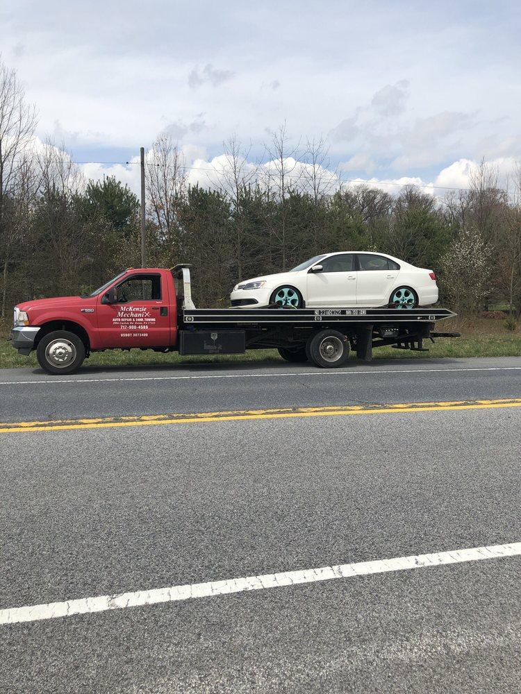 Mckenzie Mechanix Towing: 2994 Carlisle Rd, Dover, PA