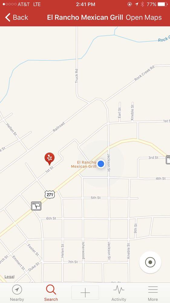 El Rancho Mexican Grill: 704 2nd St, Talihina, OK