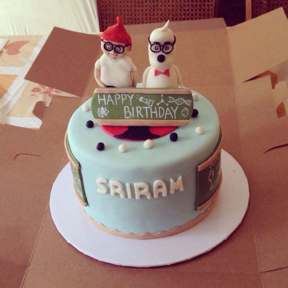 Beautiful Custom Mr Peabody And Sherman Cake Created By Natalie