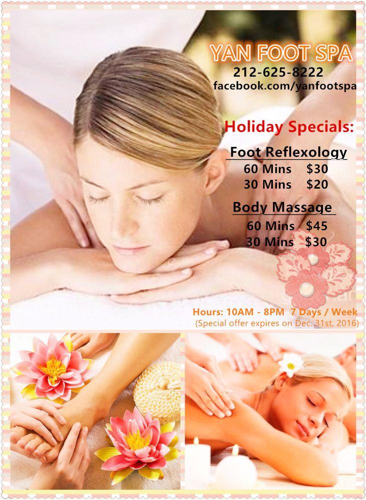 Yan Foot Spa - 19 Photos & 105 Reviews - Massage - 181 Lafayette St, SoHo,  New York, NY - Phone Number - Yelp