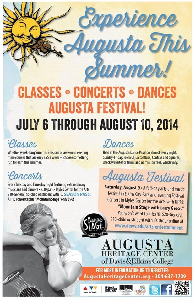 Augusta Heritage Center: 100 Campus Dr, Elkins, WV
