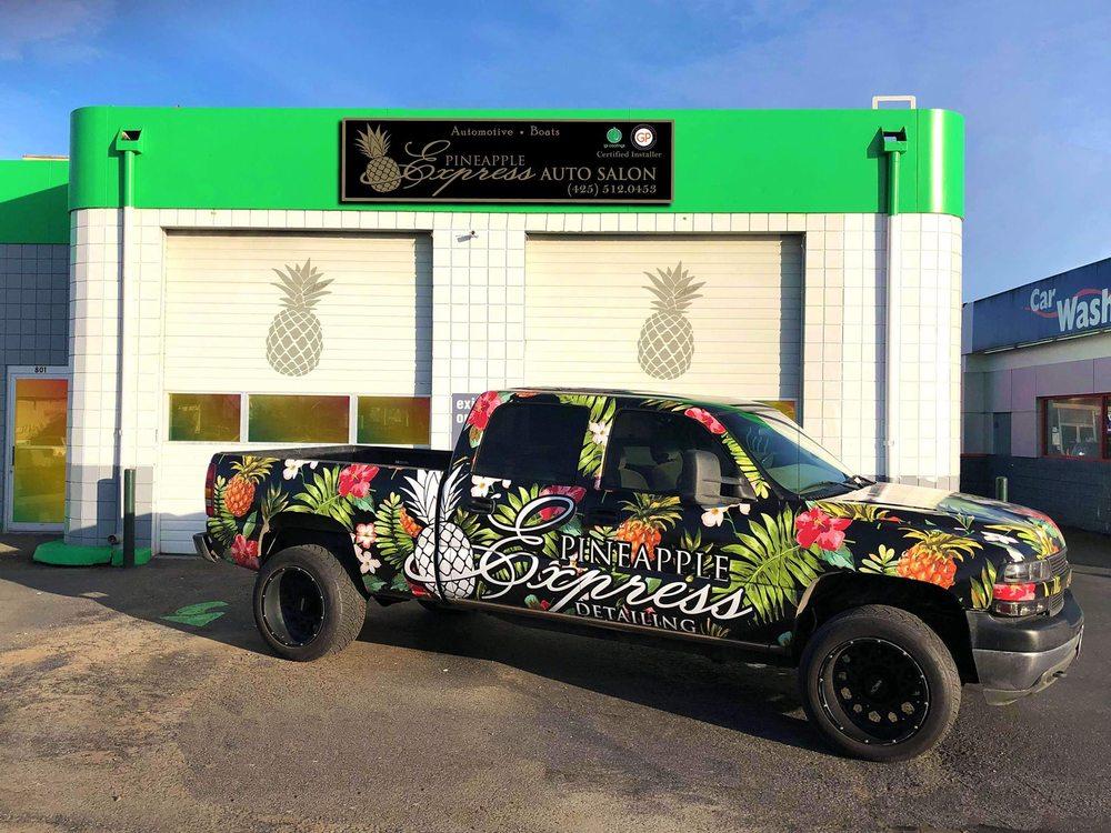 Pineapple Express Auto Salon: 801 Vernon Rd, Lake Stevens, WA