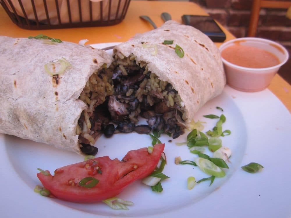 The Caribbean Jerk Chicken Burrito Yelp