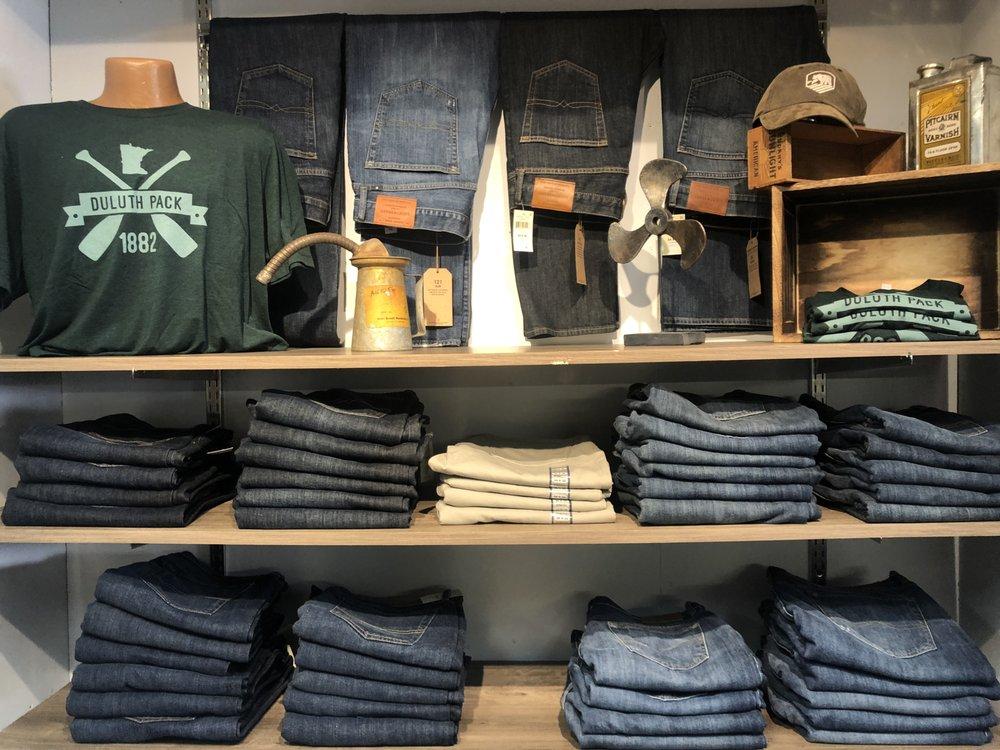Lundrigans Clothing: 501 Minnesota Ave W, Walker, MN